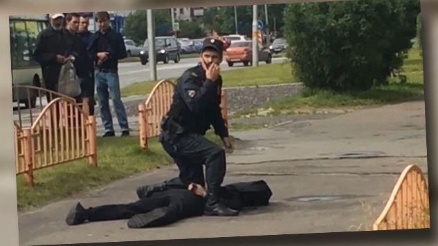 Napastnik został zastrzelony przez policję (fot. TT/RT)