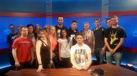 Studenci II roku Dziennikarstwa I Komunikacji Społecznej UWM w Olsztynie.