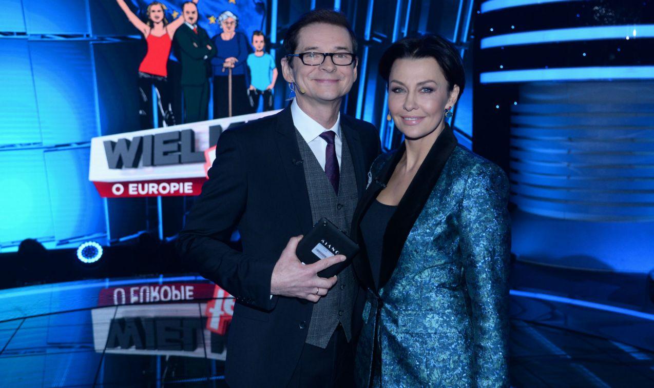 Nad wszystkim czuwali Anna Popek i Przemysław Babiarz (fot. TVP/J. Bogacz)