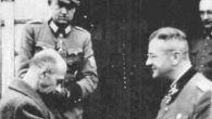 Generał Komorowski z  SS -manem Erichem von dem Bach-Zelewski  (fot. arch)
