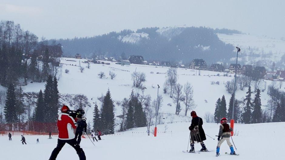 Na stoku Rusin-Ski w Bukowinie Tatrzańskiej (fot. mmas)