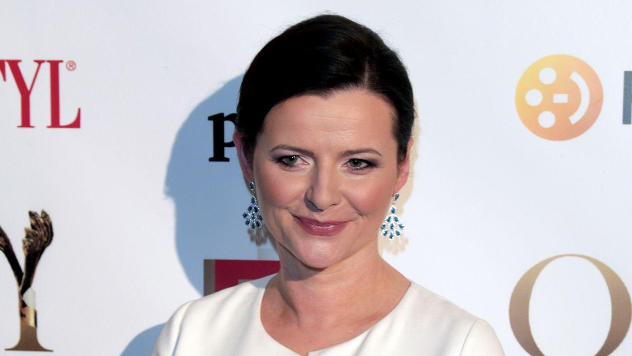"""""""Rachela"""", monodram w wykonaniu Jowity Budnik (fot. TVP)"""