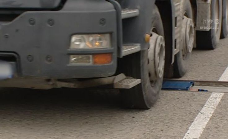 ITD otrzymała dziś od prezydenta Torunia wagę, która ułatwi kontrolę pojazdów