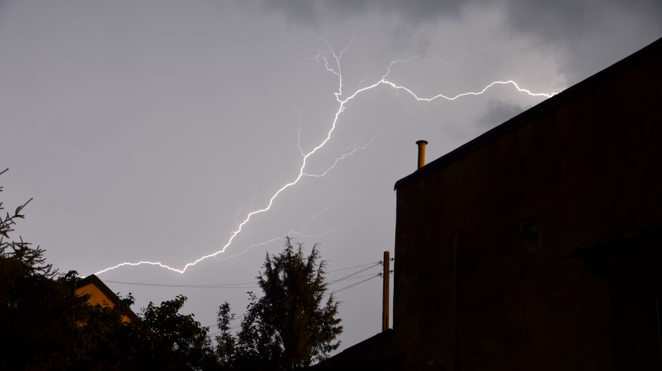 Burza w Myszkowie (fot.Twoje Info/Adrian)