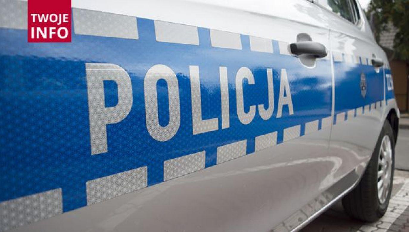 11-latek nie bał się zareagować. Pijany 34-latek trafił w ręce policjantów (fot. Twoje Info/ Paweł Chrabąszcz)