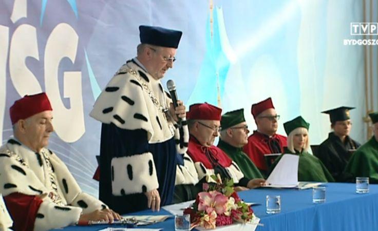 Inauguracja w WSG w Bydgoszczy