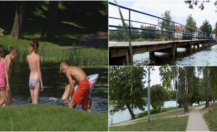 Jezioro będzie odnowione. Powstanie most i ścieżki spacerowe
