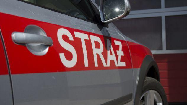 Na miejsce, oprócz pogotowia, pojechali także strażacy (fot. tvp.info/Paweł Chrabąszcz)