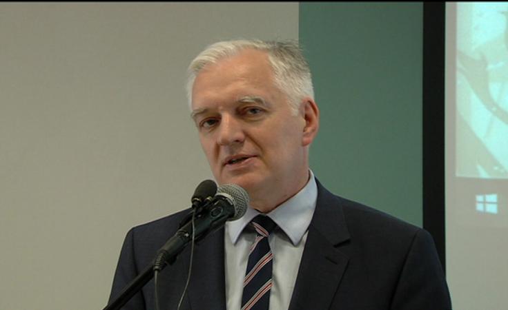 Wicepremier Jarosław Gowin przedstawił