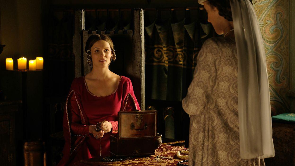 W życiu Kazimierza Wielkiego pojawi się nowa żona. Po śmierci Anny, królową zostanie Adelajda Heska (fot. M. Makowski/TVP)