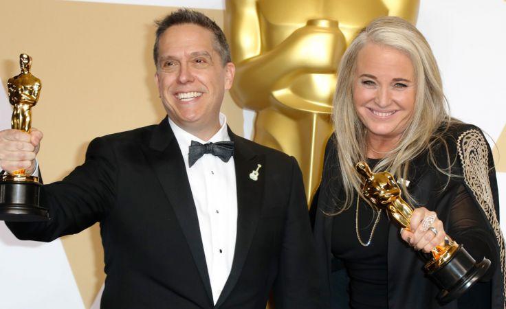 Lee Unkrich i Darla K. Anderson, twórcy nagrodzonego Oskarem filmu animowanego