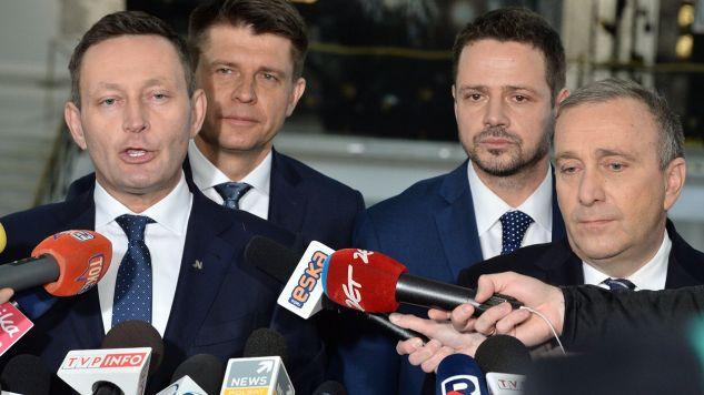 Rafał Trzaskowski chce być prezydentem, a Paweł Rabiej – wiceprezydentem Warszawy (fot. PAP/Jacek Turczyk)