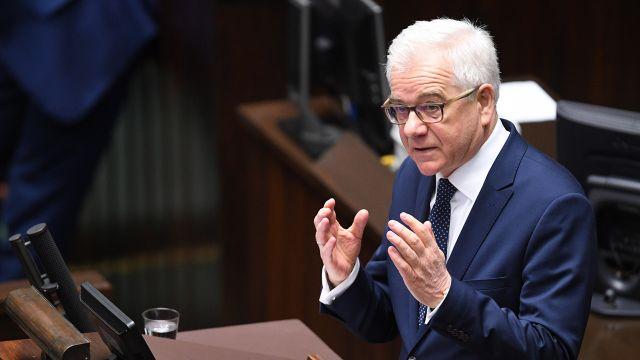 Szef MSZ w Sejmie o zadaniach polskiej polityki zagranicznej [RELACJA]