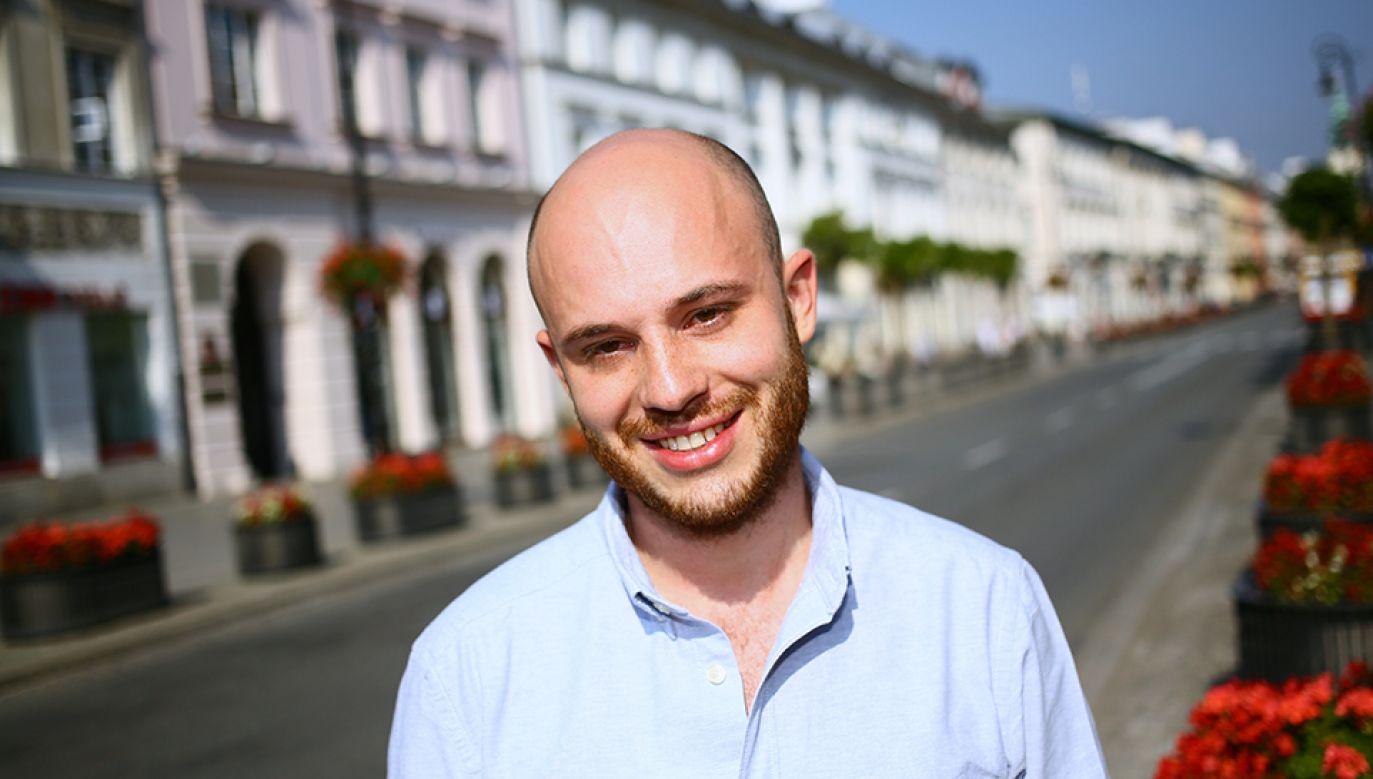 Jan Śpiewak rozstał się niedawno ze stowarzyszeniem Miasto Jest Nasze (fot. arch.PAP/Leszek Szymański)