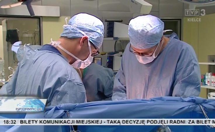 Po raz pierwszy w regionie pacjentowi wszczepiono zastawkę wykonaną z jelita świni