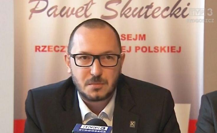 Połowa kadencji według posła Skuteckiego