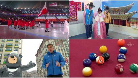 Polacy po ceremonii otwarcia. W sobotę szansa na medal