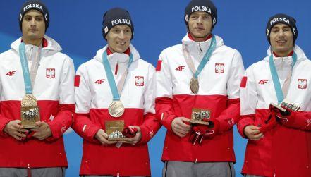 Pjongczang: polscy skoczkowie odebrali brązowe medale!