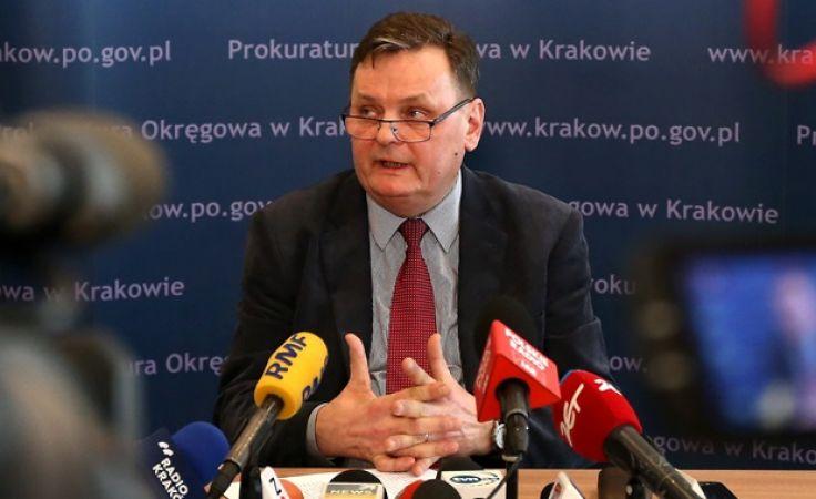 Rzecznik Prokuratury Regionalnej w Krakowie Włodzimierz Krzywicki (fot. arch. PAP)