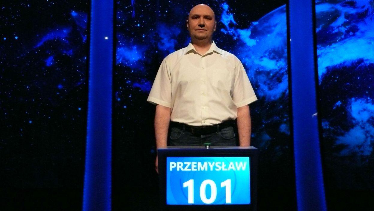 8 odcinek 111 edycji wygrał pan Przemysław Pszczoła zdobywając 101 punktów w finale odcinka