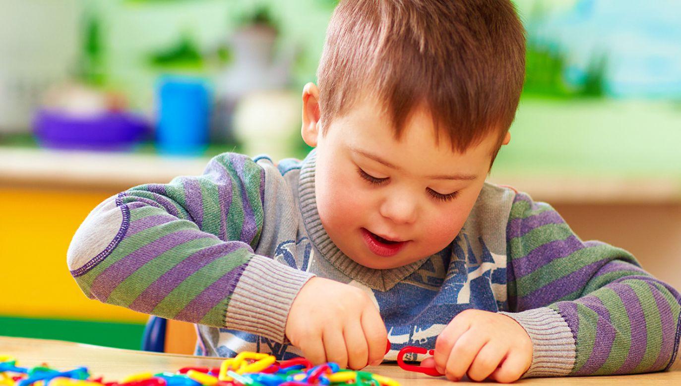 Raport przygotowano na podstawie wyników ogólnopolskich badań z udziałem 392 rodzin wychowujących osoby z zespołem Downa (fot. Shutterstock/ Olesia Bilkei)