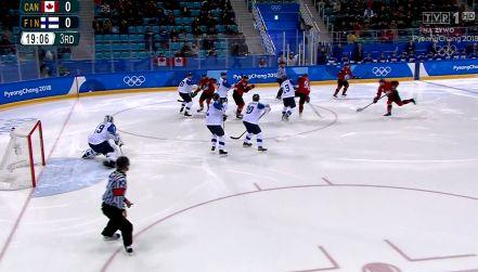 1/4 finału, Kanada – Finlandia 1:0: gol Noreau