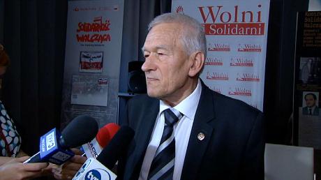 Kornel Morawiecki (fot. TVP3 Wrocław)