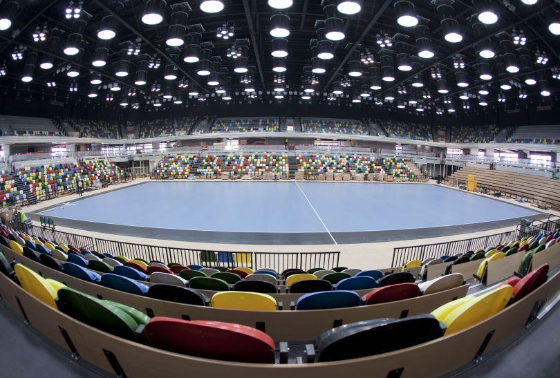 Copper Box: arena zmagań m.in. piłkarzy ręcznych (fot. london2012.com)