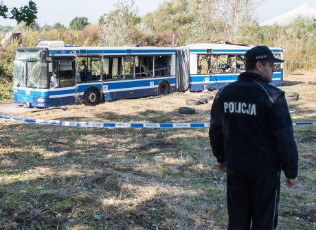 Eksplozja w autobusie eksperymentem procesowym
