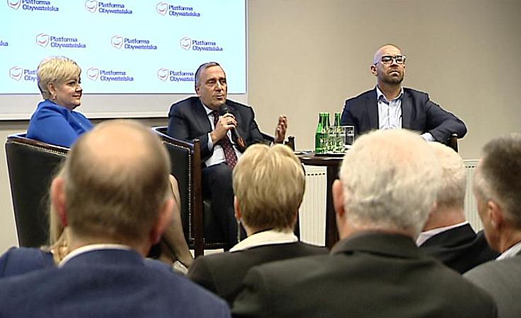 Spotkania otwarte polityków PO na Podkarpaciu
