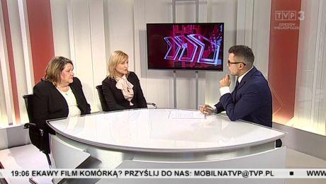 25.02.2016, Wolontariusz pomogą seniorom w codziennych czynnościach, goście: Justyna Pawlak, Irena Szklana-Berest