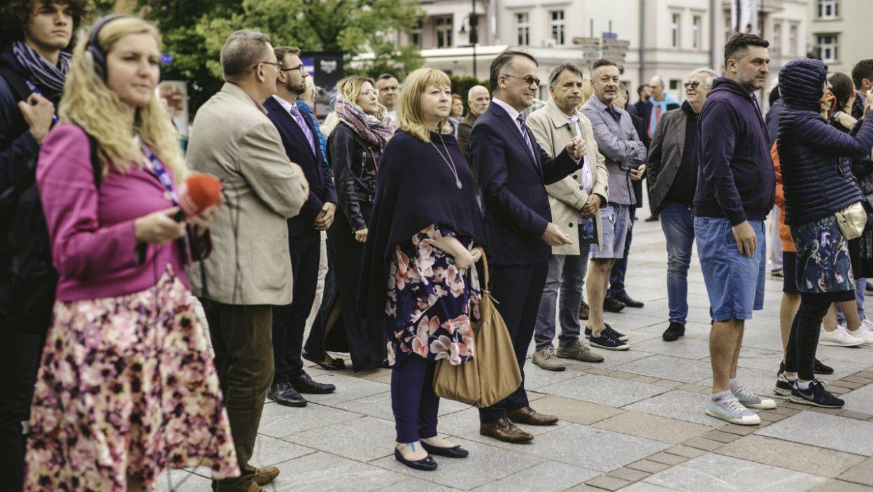 Pierwszy dzień festiwalu przyciągnął tłumy (fot. TVP)