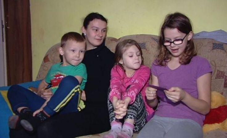 """Okaż serce. Podaruj gwiazdkę"""". Rodzina pani Joanny Chojnackiej"""