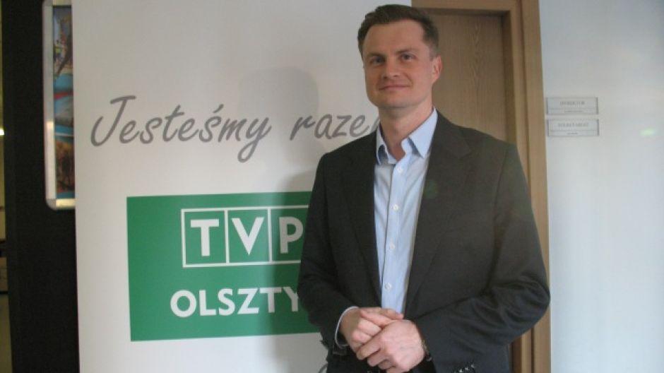 Marcin Kuchciński, dyrektor Departamentu Pozyskiwania Inwestorów  W-M Specjalnej Strefy Ekonomicznej.