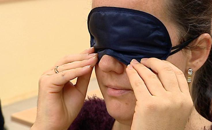 Będą pracować z dziećmi niewidomymi i niedowidzącymi
