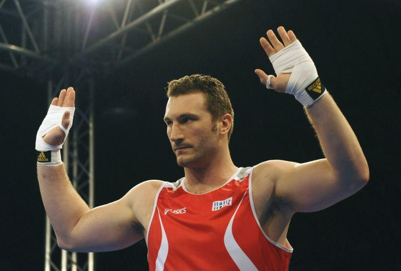 Włoski bokser wagi superciężkiej Roberto Cammarelle (fot. Getty Images)