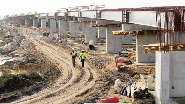 Wzrost cen odnotowano również w produkcji budowlano-montażowej (fot. PAP/Tomasz Waszczuk)