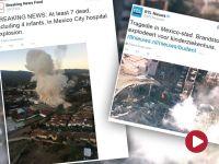 Meksyk: eksplozja gazu w szpitalu dziecięcym. Siedem osób nie żyje, niemowlęta ewakuowane