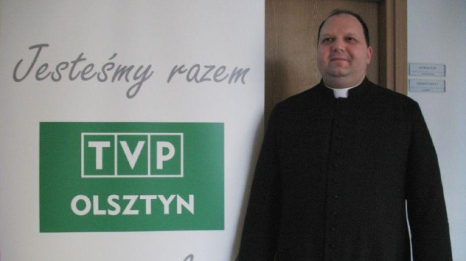 Ks. Paweł Rabczyński, rektor Wyższego Seminarium Duchownego Hosianum w Olsztynie.