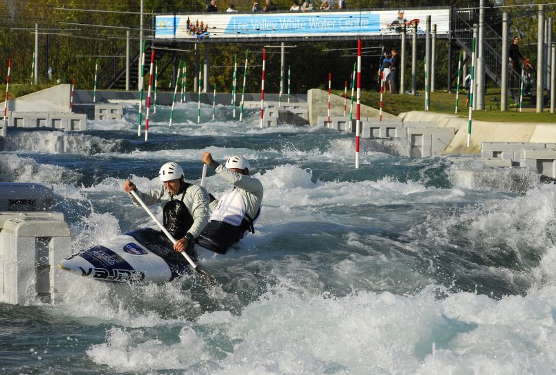 Lee Valley White Water Center: arena zmagań w kajakarstwie górskim (fot.london2012.com)