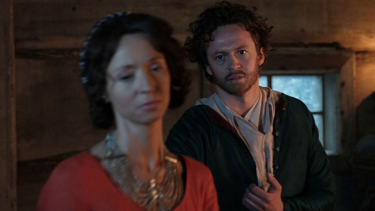 Szlachcic oznajmia Belli, że odchodzi i wraca do Egle. Włoszka jest zrozpaczona i odjeżdża do Bolonii (fot. TVP)