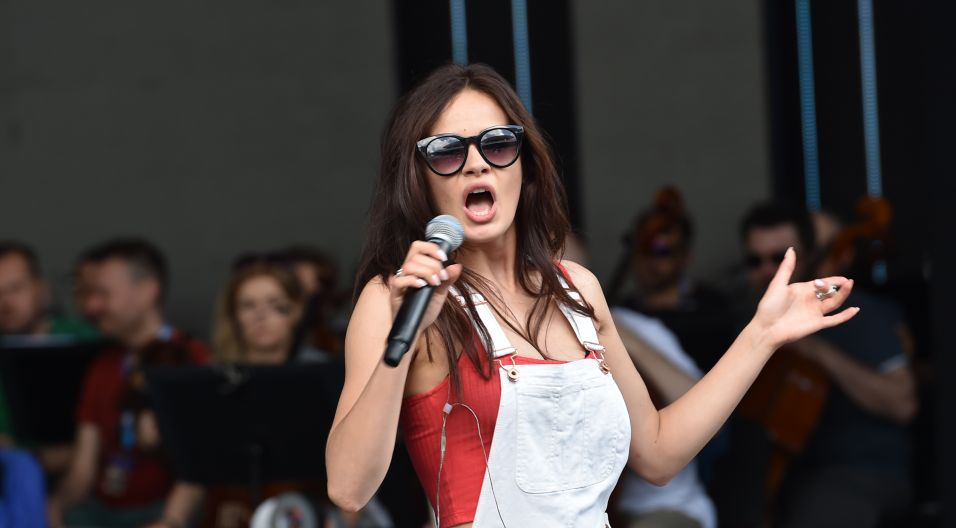 Dziś na scenie wystąpi Natalia Schroeder... (fot. I. Sobieszczuk/TVP)