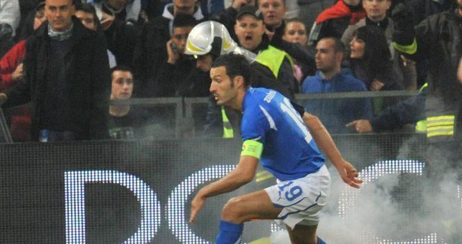 Tylko sześć minut trwał mecz Włoch z Serbią (fot.PAP/EPA)