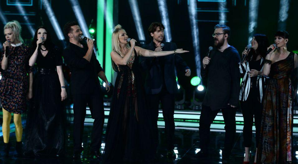 Uczestnicy koncertu Debiuty (fot. TVP)