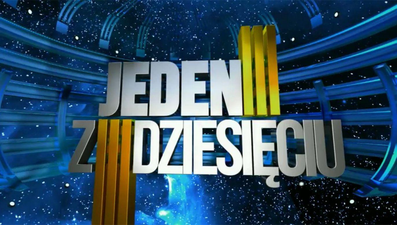 """Teleturniej """"Jeden z dziesięciu"""" od lat cieszy się ogromną popularnością (fot. TVP)"""