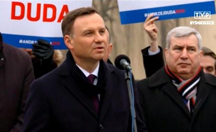 Andrzej Duda jest kandydatem PiS w majowych wyborach na pezydenta RP