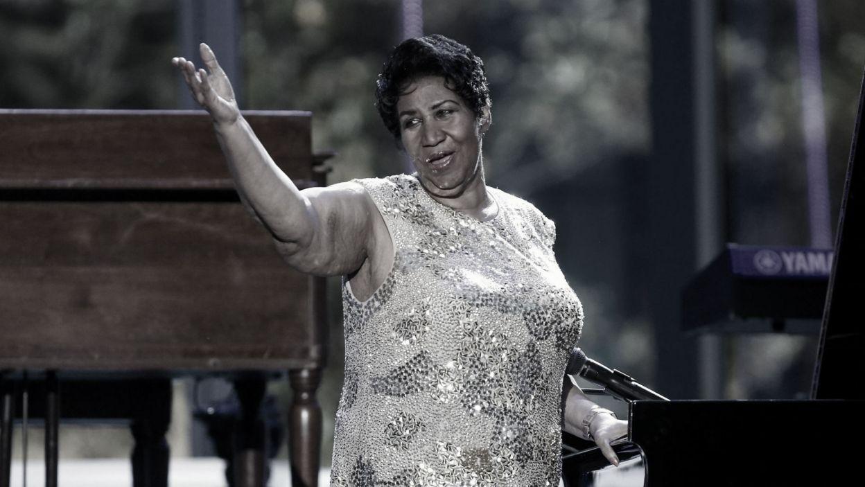 """W sierpniu świat pożegnał """"królową soulu"""" Arethę Franklin (fot. PAP)"""