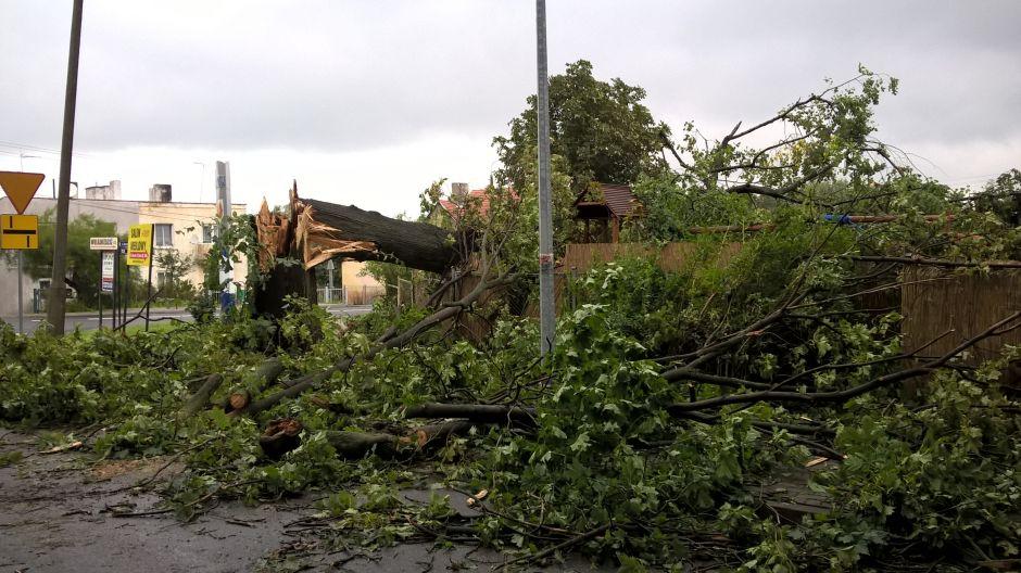 Zniszczony Barcin (fot.Twoje Info/Kamil)