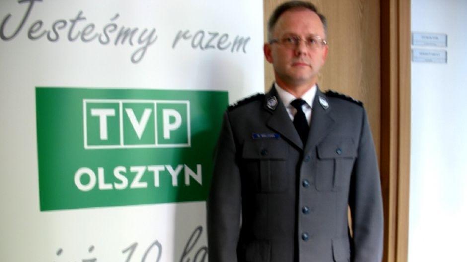 Insp. Marek Walczak, Komendant Wojewódzki Policji.