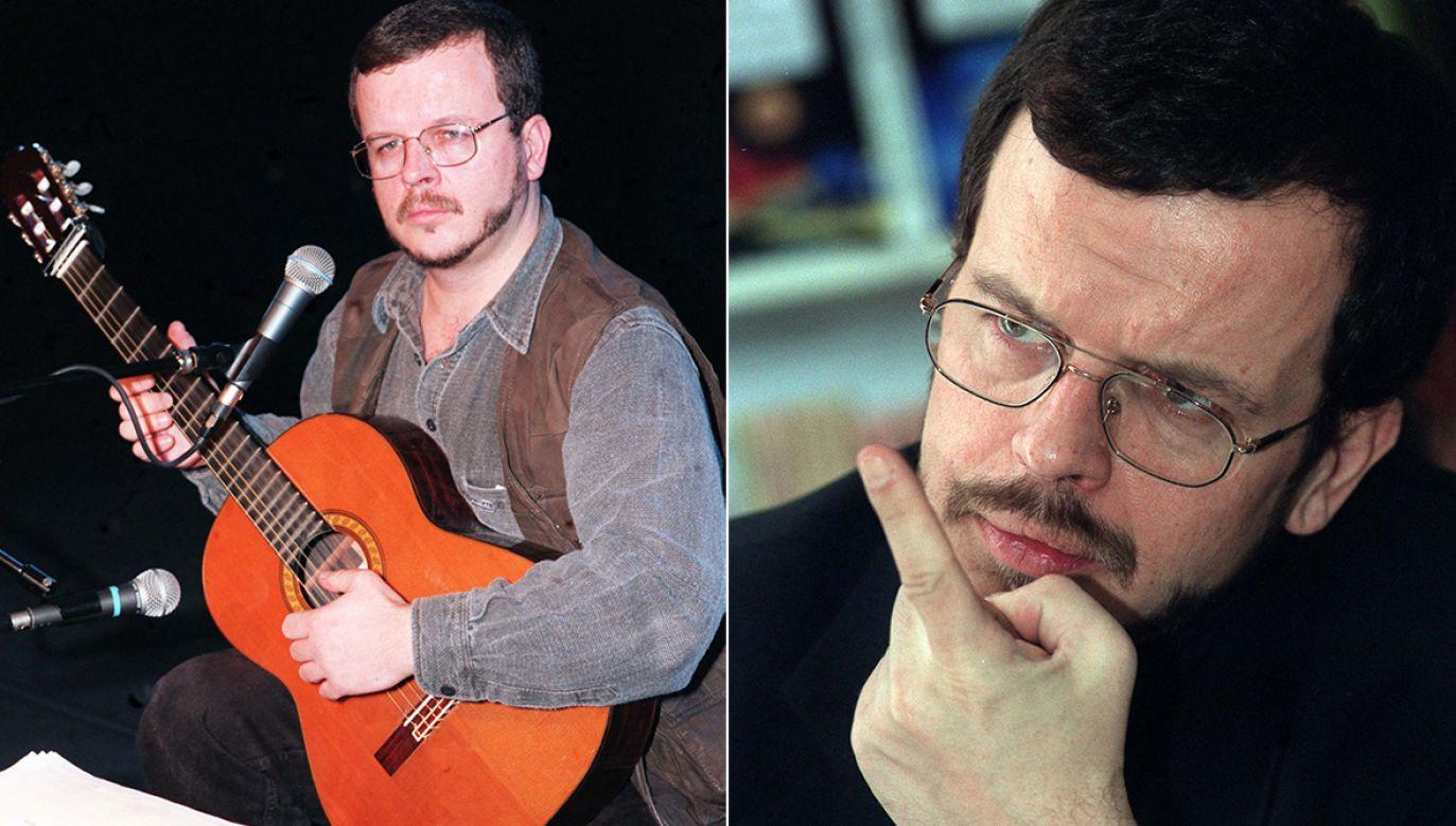 Jacek Kaczmarski urodził się 22 marca 1957 roku (fot.PAP-Andrzej Rybczyński)